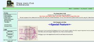 The Sharp Users Club Website